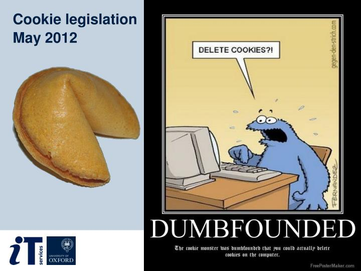 Cookie legislation