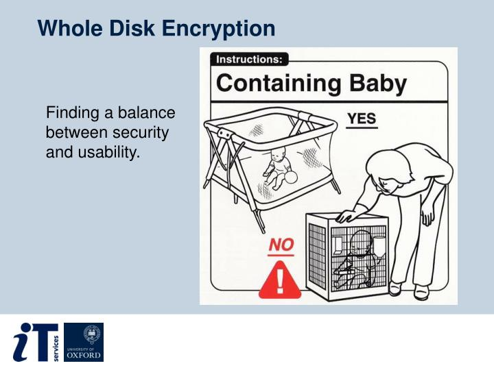 Whole Disk Encryption