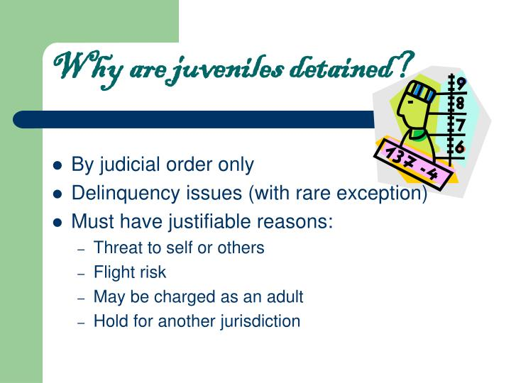 charging juveniles as adults A compilation of laws, regulations, cases, and web sources on juvenile justice system law by the trial court law libraries.