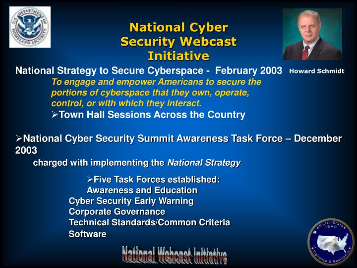 National Cyber Security Webcast Initiative