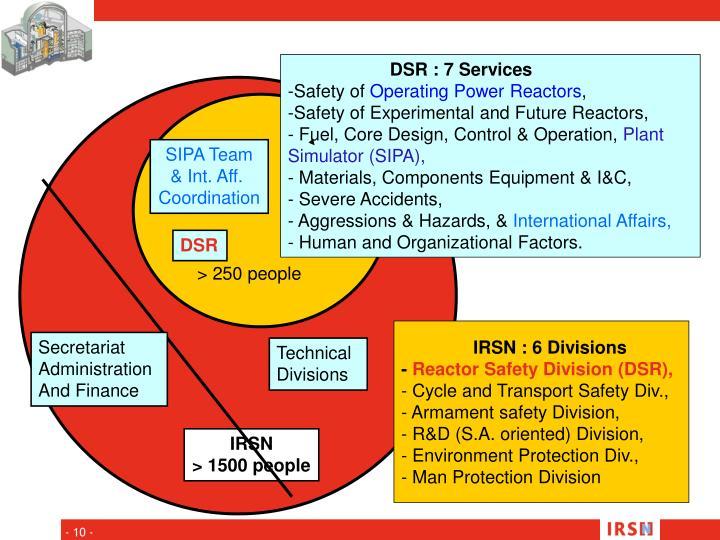 DSR : 7 Services
