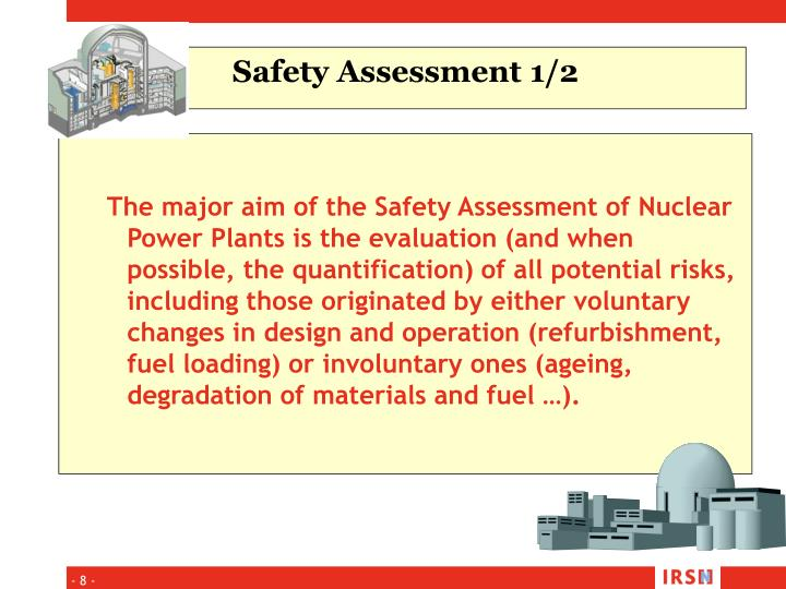 Safety Assessment 1/2