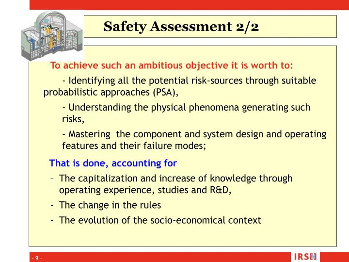 Safety Assessment 2/2