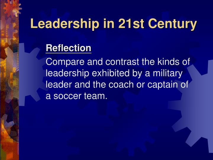 Leadership in 21st Century