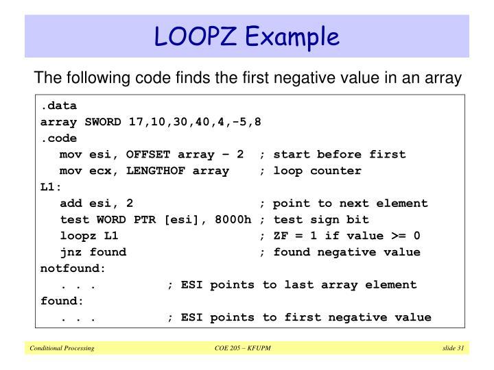 LOOPZ Example