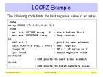 loopz example