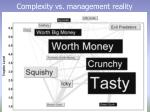 complexity vs management reality