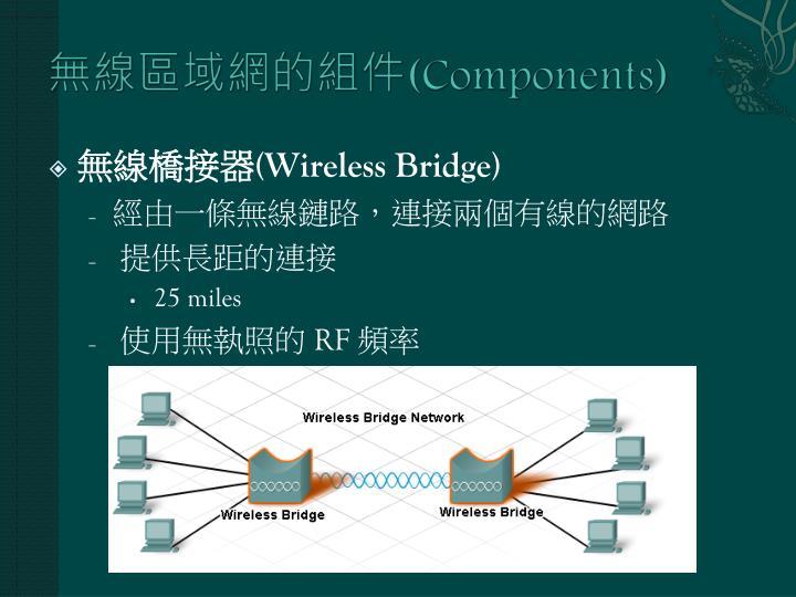 無線區域網的組件