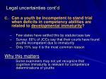 legal uncertainties cont d1