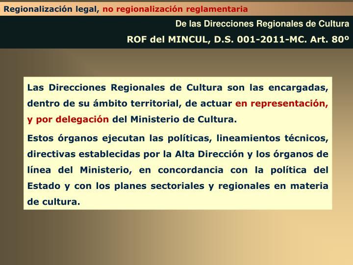 Regionalización legal,