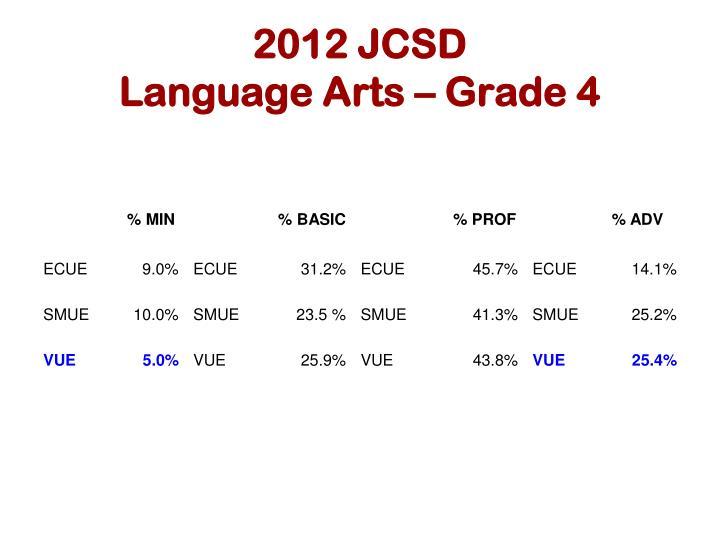 2012 JCSD