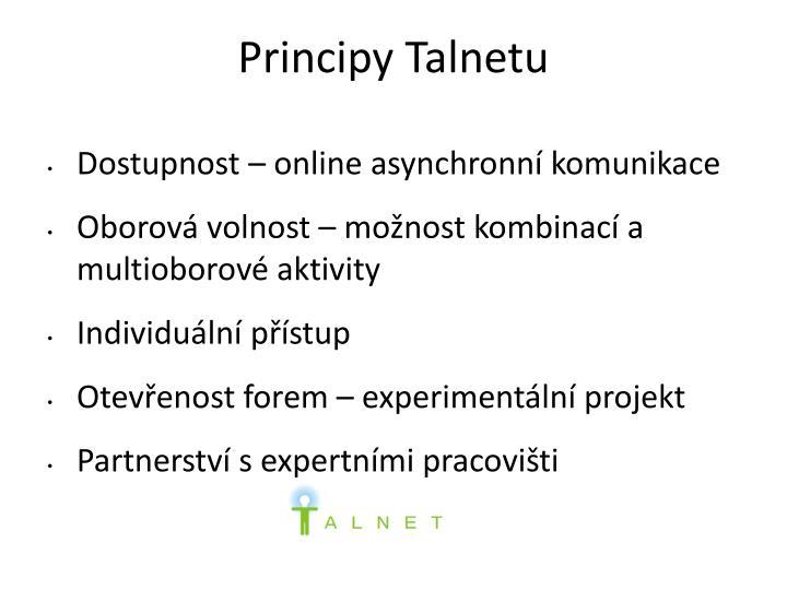 Principy Talnetu