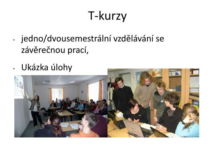 T-kurzy