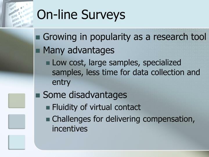 On-line Surveys