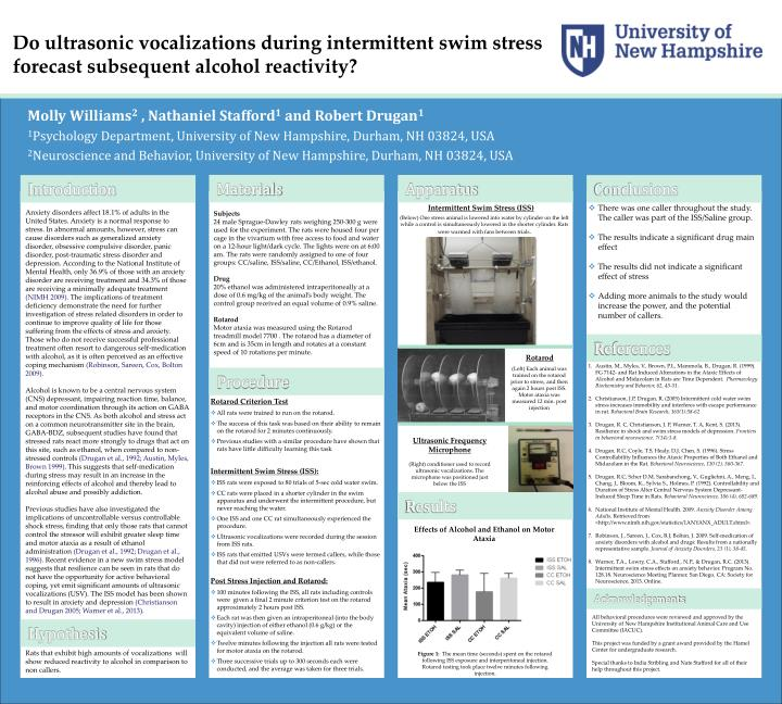 Do ultrasonic vocalizations during intermittent swim stress forecast subsequent alcohol reactivity?