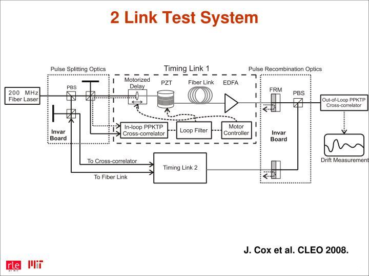 2 Link Test System
