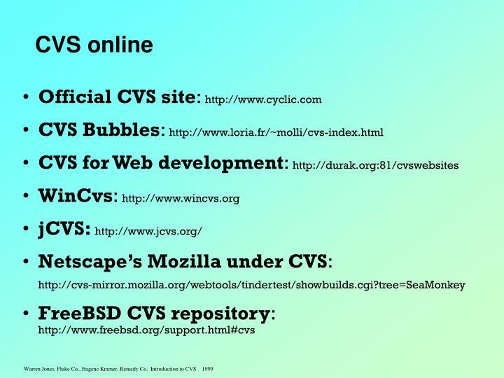 CVS online