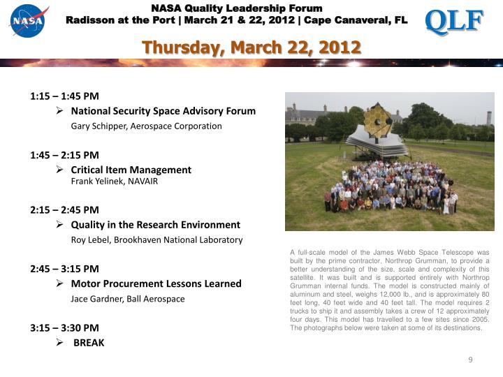 Thursday, March 22, 2012
