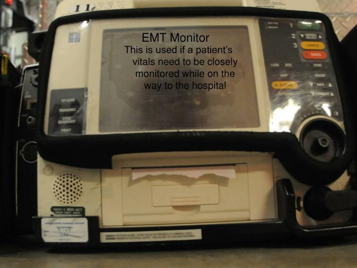 EMT Monitor