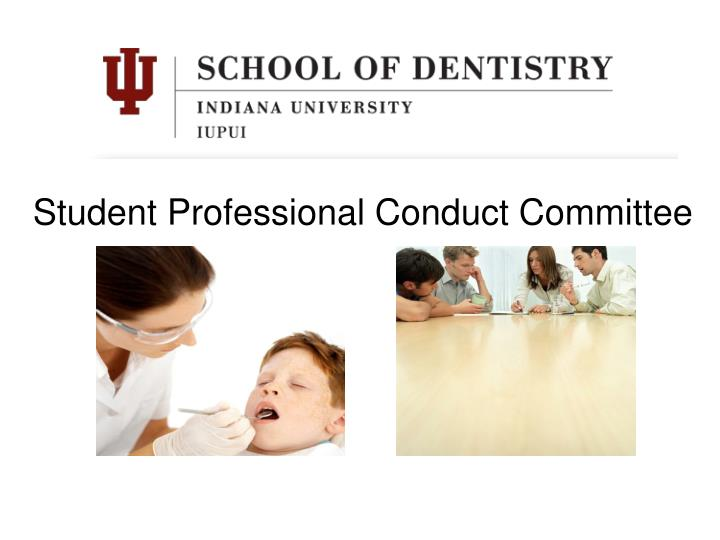 Student Professional Conduct Committee