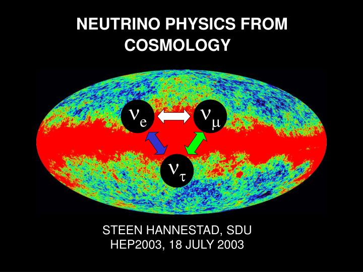 NEUTRINO PHYSICS FROM