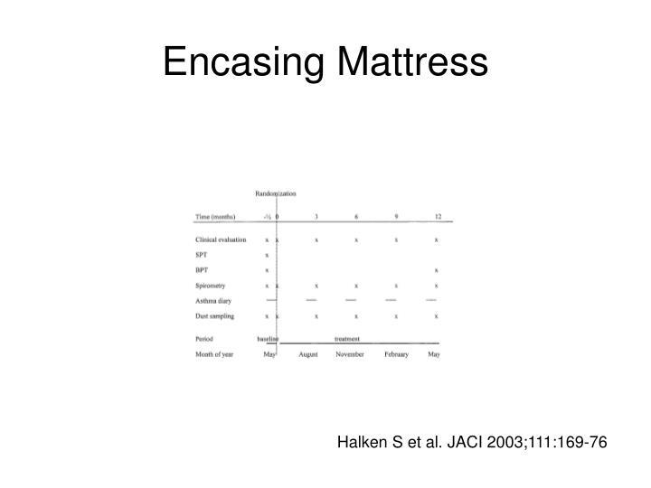 Encasing Mattress