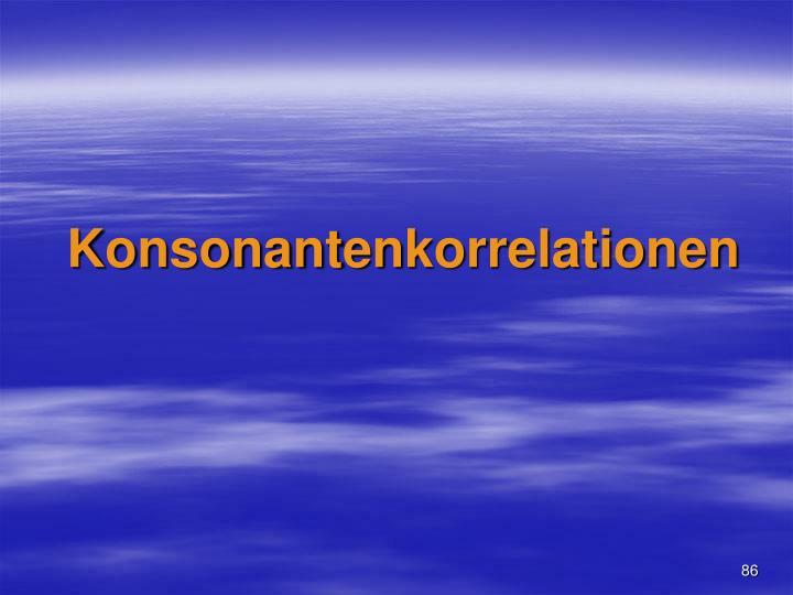 Konsonant
