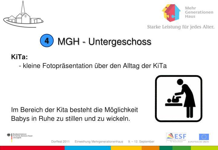 MGH - Untergeschoss