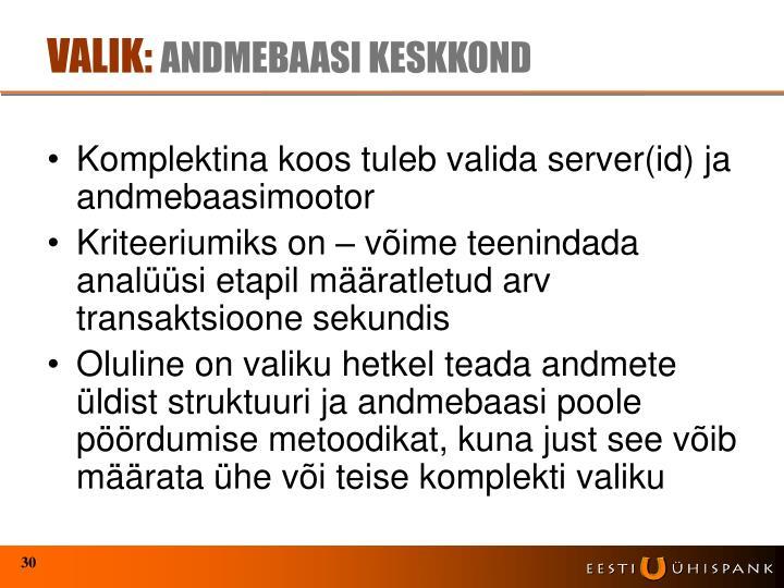 VALIK: