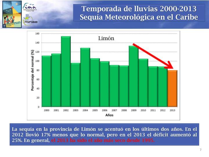 Temporada de lluvias 2000-2013