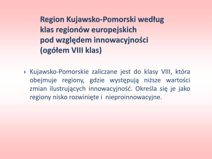 Region Kujawsko-Pomorski według