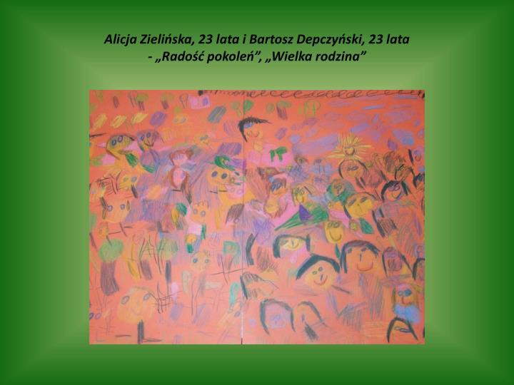 Alicja Zielińska, 23 lata i