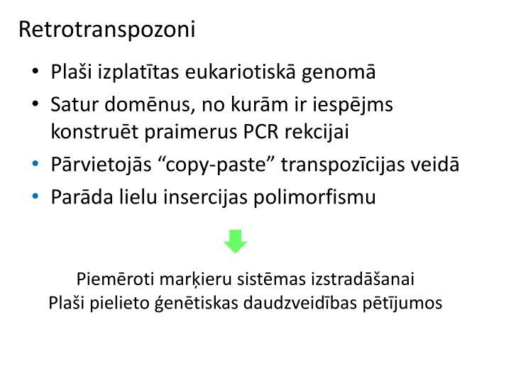 Retrotranspozoni