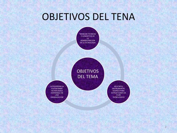 OBJETIVOS DEL TENA