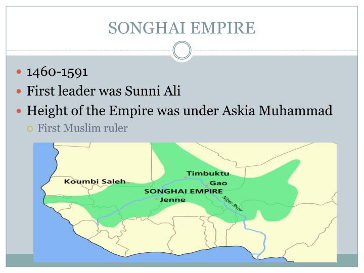 SONGHAI EMPIRE