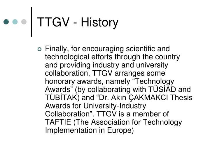 TTGV - History