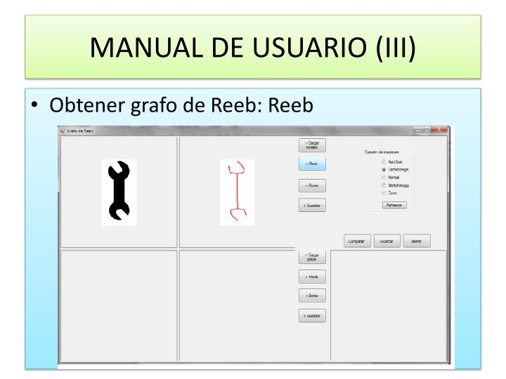 MANUAL DE USUARIO (III)