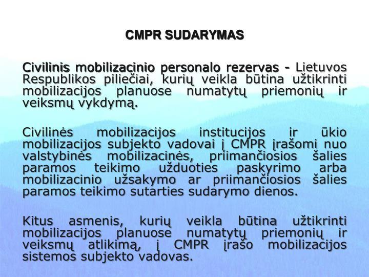 CMPR SUDARYMAS