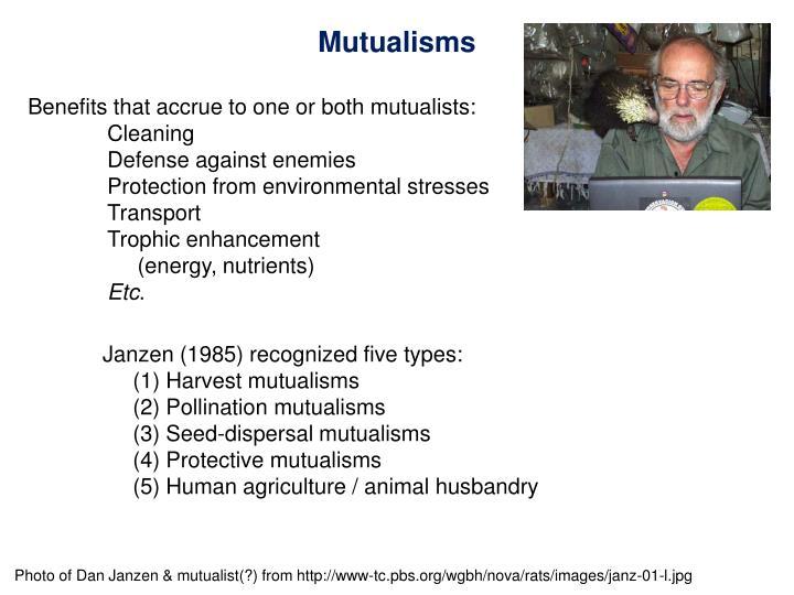 Mutualisms