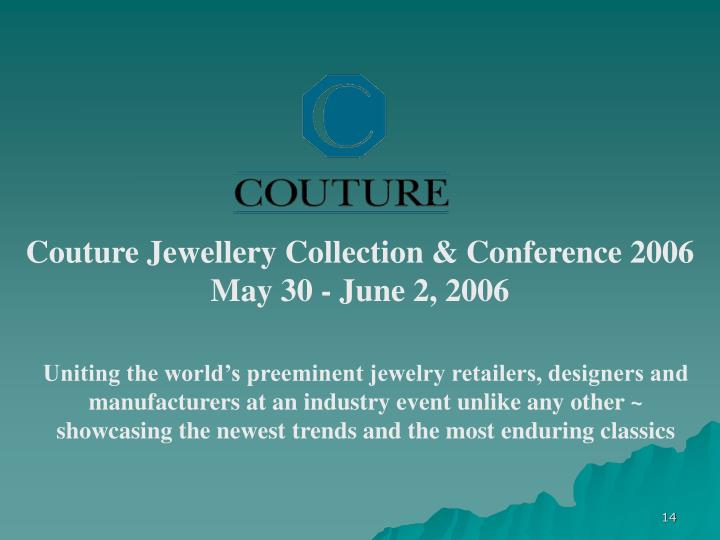 Couture Jewellery Collection & Conference 2006