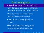 new immigrants