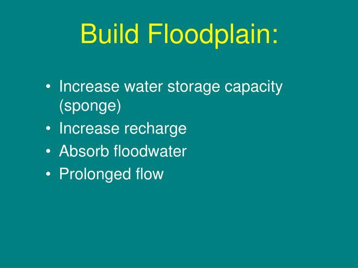 Build Floodplain: