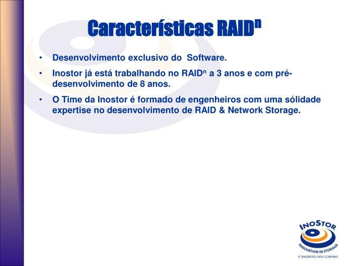 Características RAID