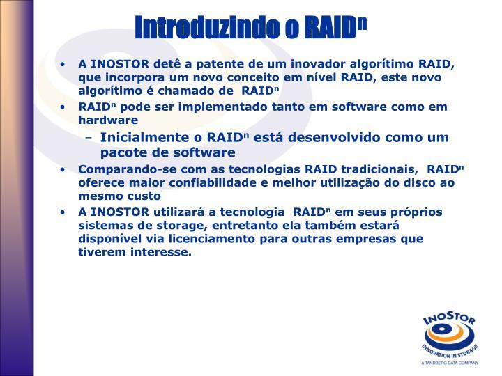 Introduzindo o RAID