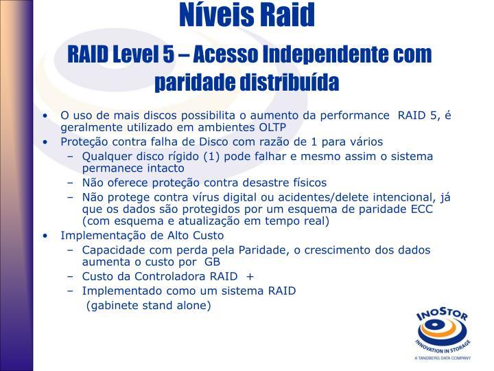 Níveis Raid