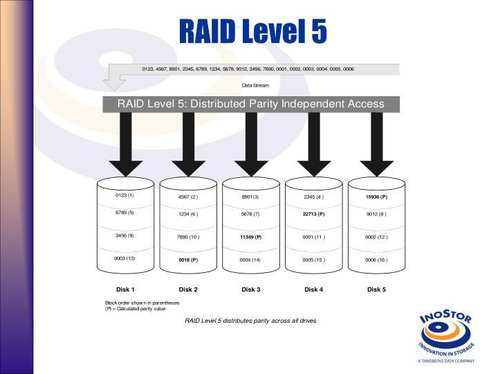 RAID Level 5