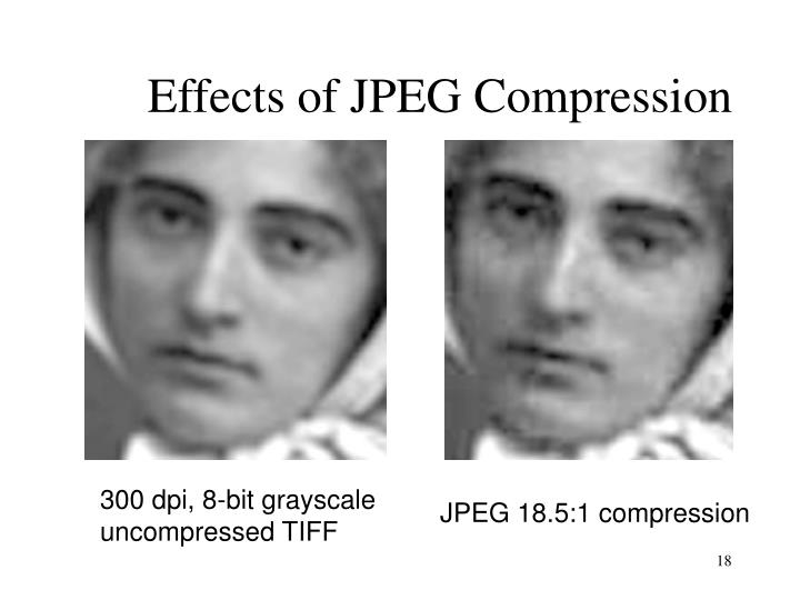 Effects of JPEG Compression