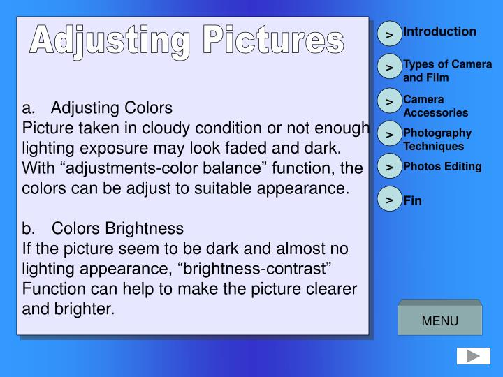 Penyelarasan Warna Gambar