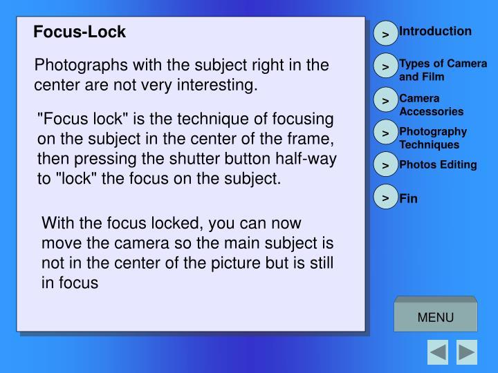 Focus-Lock