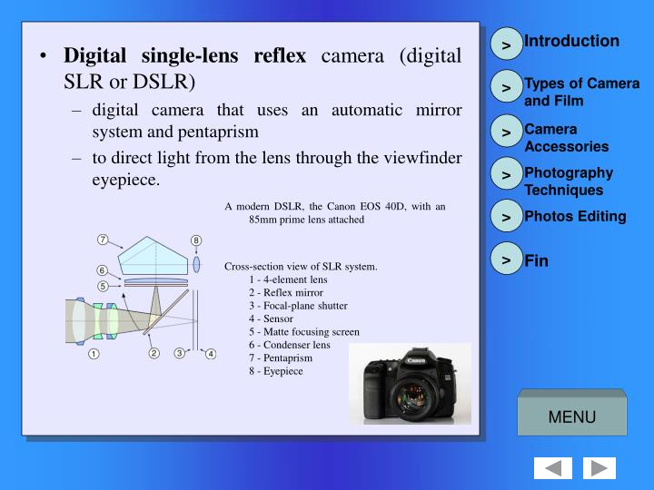 Digital single-lens reflex